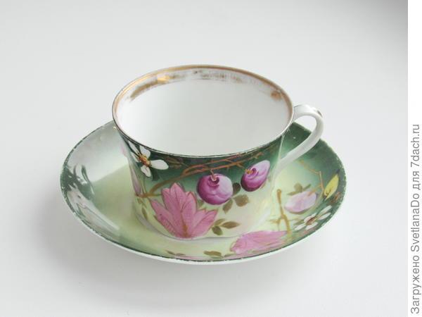 бабушкина кузнецовская чайная пара