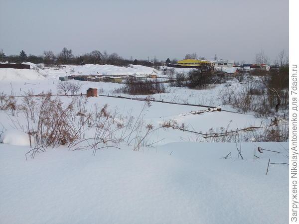 Полный огород снега, кому-то повезло!