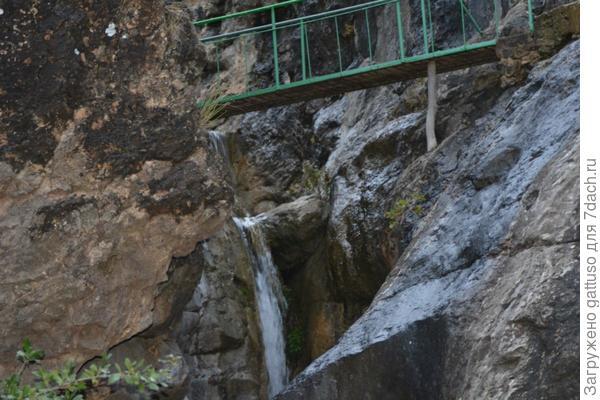 первые шаги к тропе водопадов