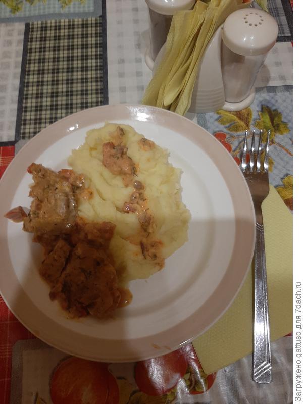 Рыбка в сметанке и с помидорками - пошаговый рецепт приготовления с фото