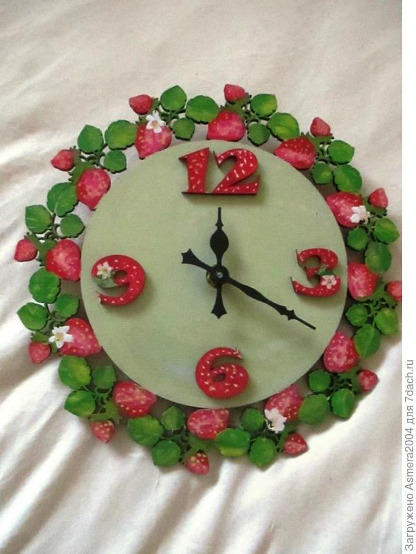 Часы для Олечки Кабацкой на дачу