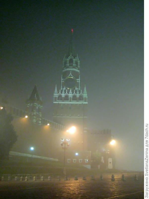 А кремль в смоге прячет лик )