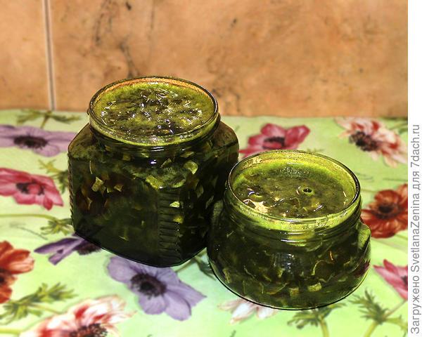 Варенье; Мохито; из кабачков - пошаговый рецепт приготовления с фото