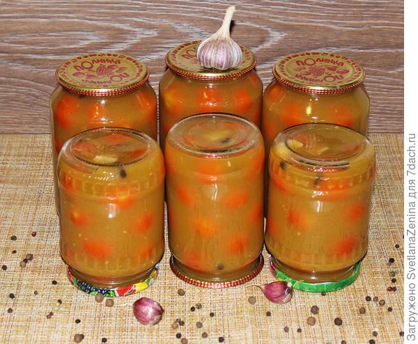Помидорки в томатном соке