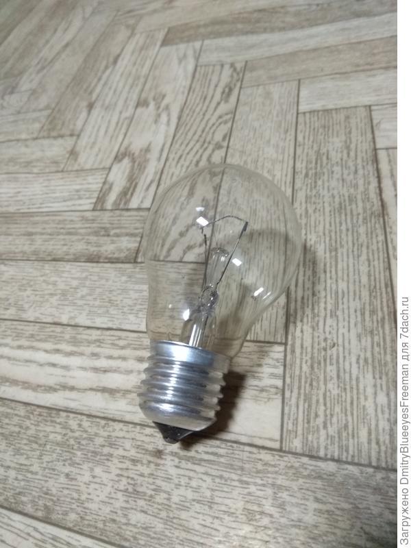Лампочка накаливания