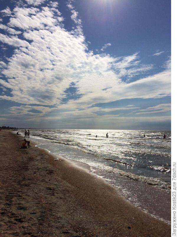 Азовское море...