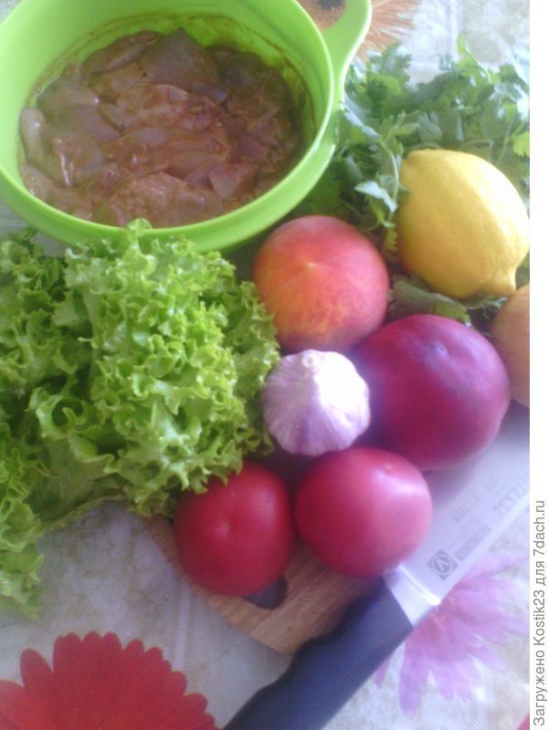 Что нужно для салата.