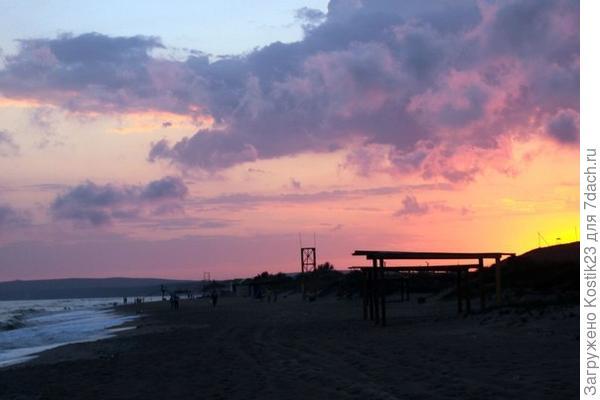 Перед закатом...