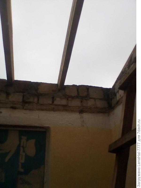 Пристройка к дому, кроем крышу.