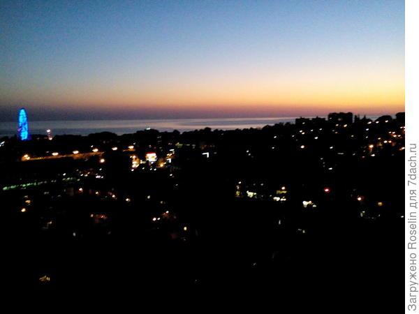 Таким панорамным видом встретила нас Лазаревка