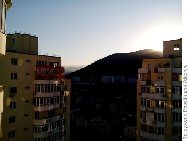 Солнце встаёт...