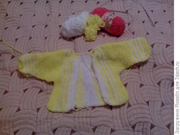 Будет костюмчик для моей новорожденной внученьки. На Новый год подарочек!