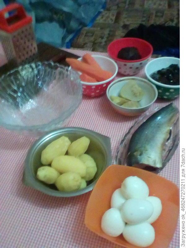 Подготовили продукты