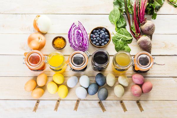 Натуральные красители можно найти у себя в холодильнике