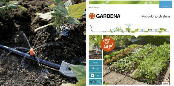 Комплект для системы капельного орошения от Gardena