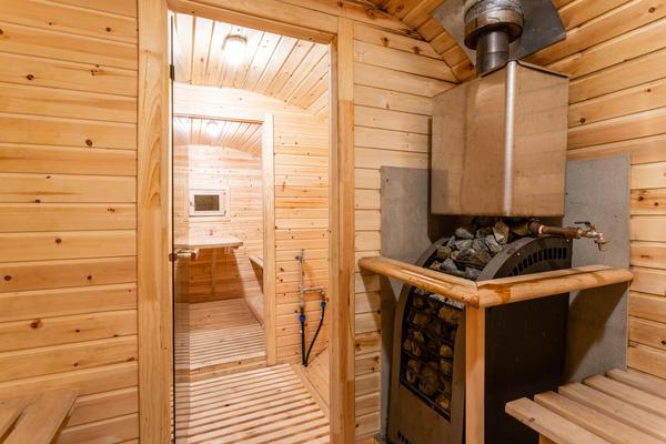 Размеры бани зависят от количества человек, которые будут её посещать