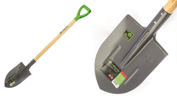 Лопата штыковая с деревянным черенком. СИБРТЕХ
