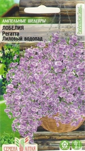 """Лобелия """"Лиловый водопад"""""""
