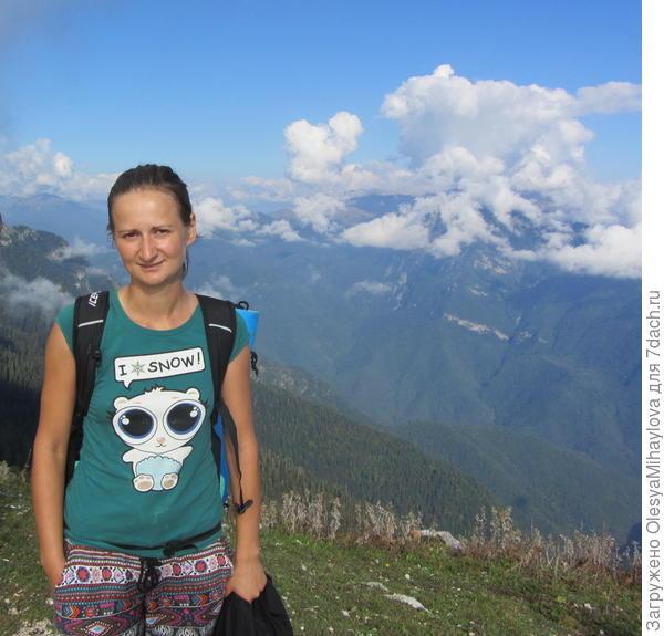 Восхождение на гору Мамзышха Абхазия