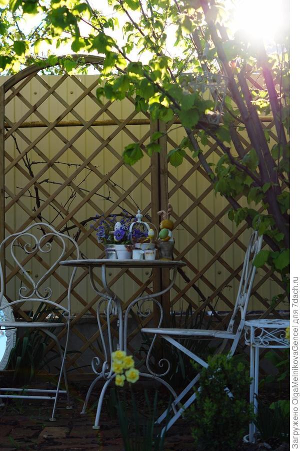 Уголок для отдыха и чаепития