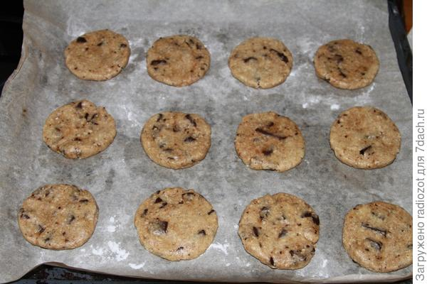 Сформируйте каждое печенье вручную