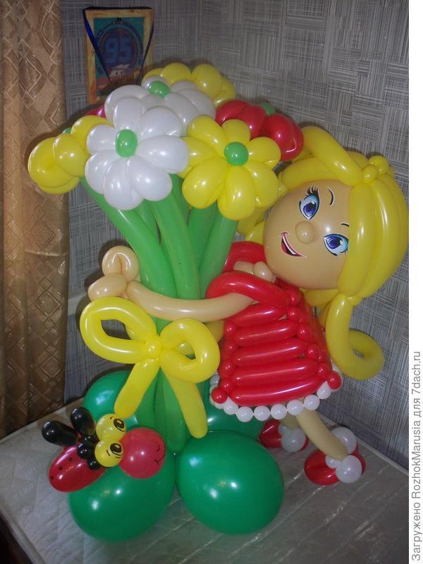 Куколка в подарок маленькой девочке