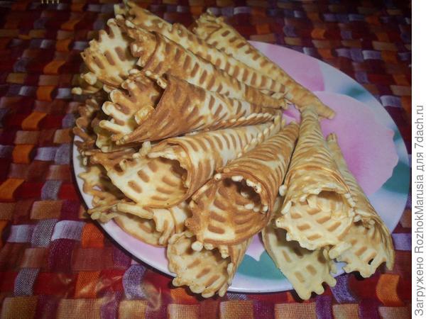 Вафли со сгущенкой - пошаговый рецепт приготовления с фото