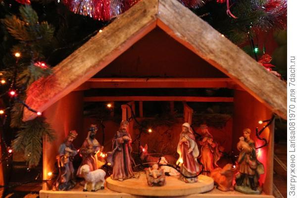 Вертеп к рождеству