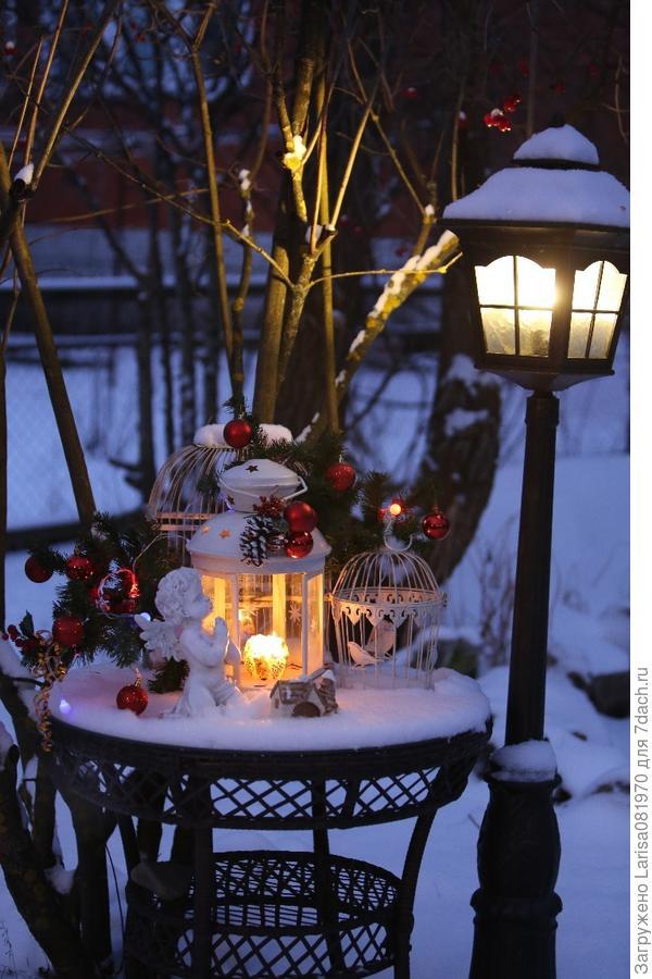 Зимний декор