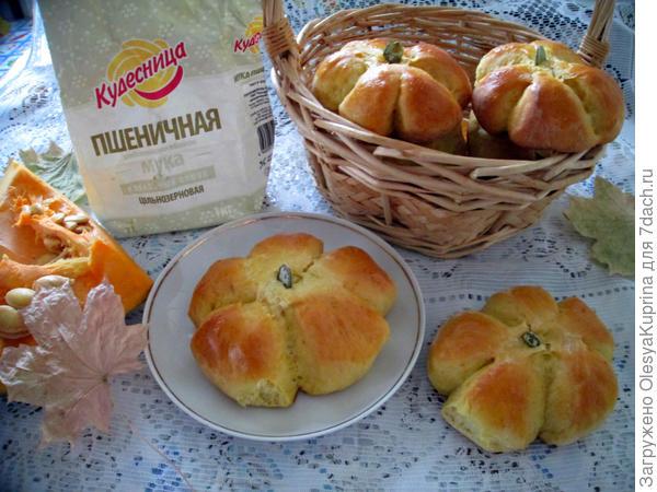 Солнечные симпатичные булочки
