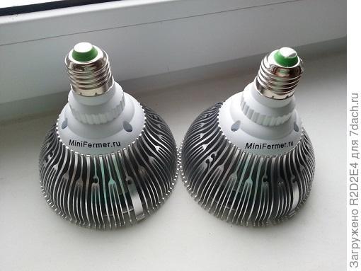 Сравнение диодных ламп фуллспектр и биколорных.