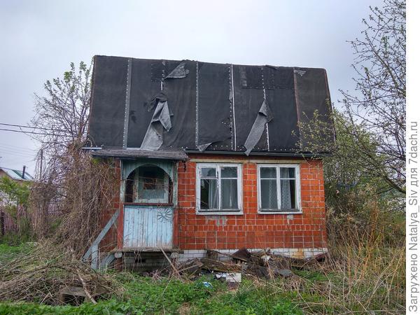 Первое фото дома,до начала всех работ