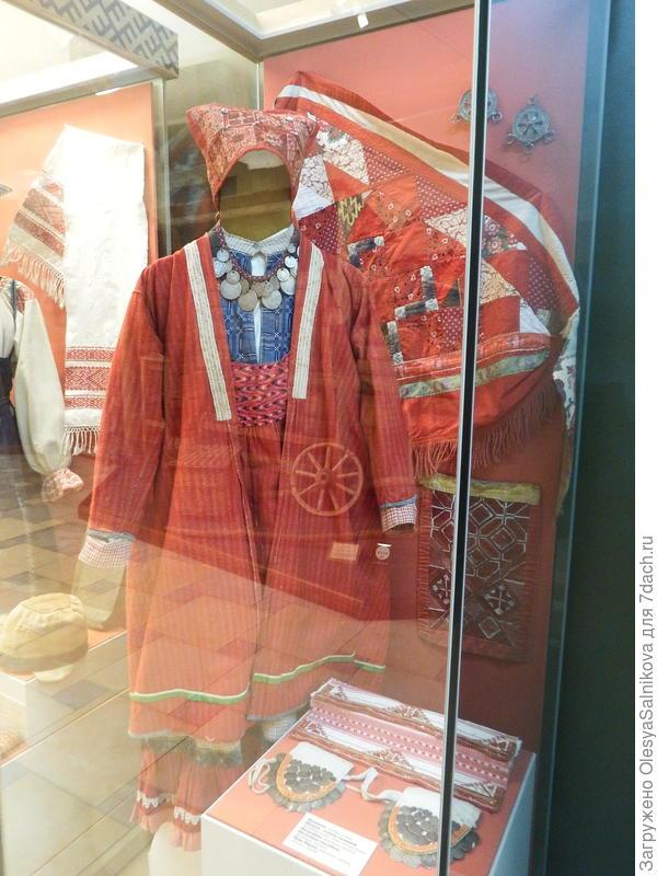 женский удмуртский костюм.