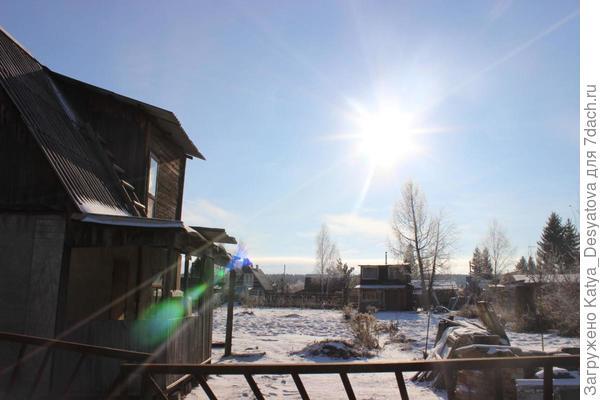 Как прекрасен ноябрь в этом году. Первый снег. Солнце и невероятная красота вокруг.