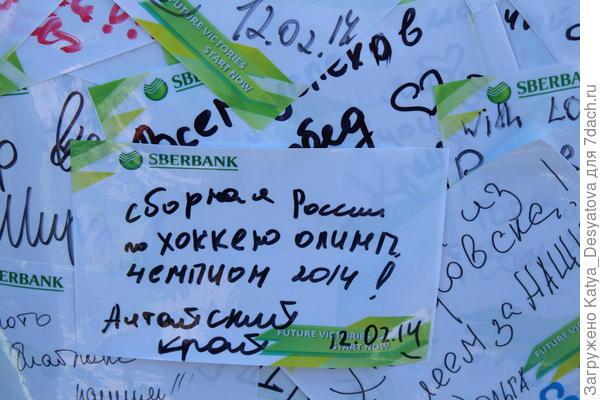 Второй подарок,который тоже будет оставлен под елочкой,это путевка в Сочи( ну год же юбилейный).