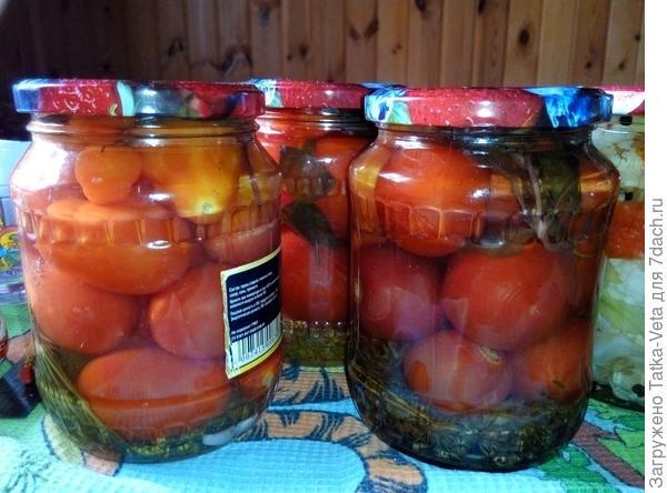 И еще помидорки... люблю их!
