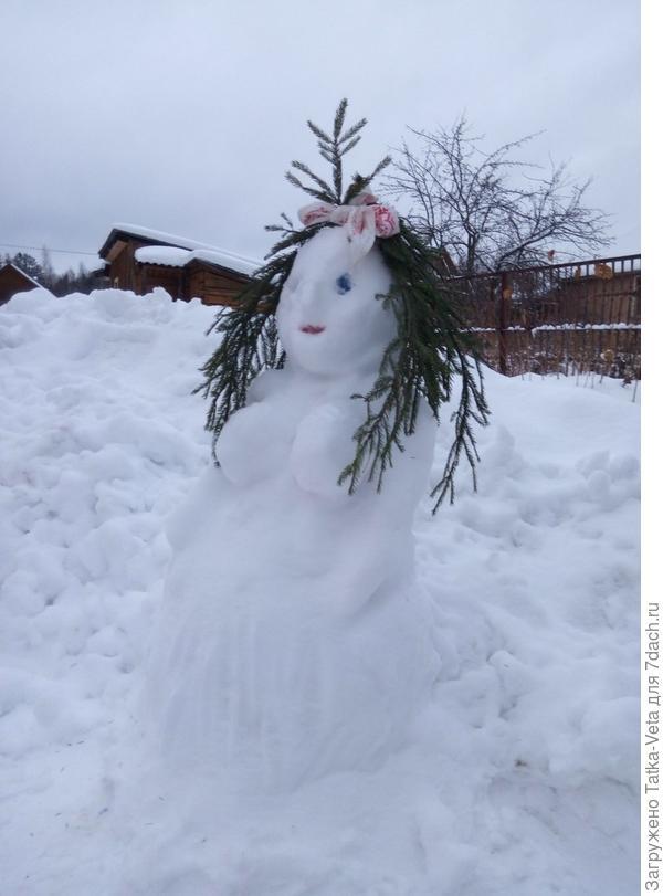 Снегурочка))
