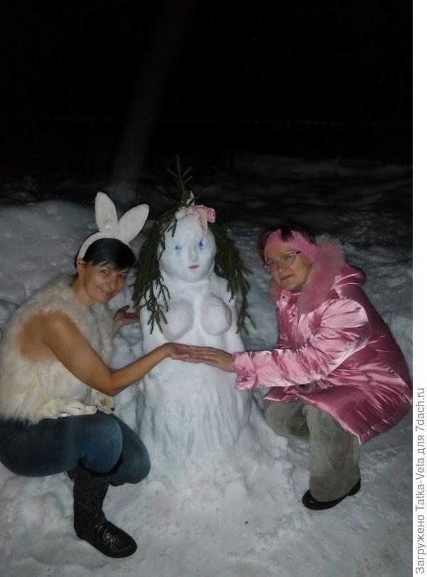 Хоровод со снегурочкой))