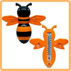 Термометр оконный для крепления на стекло Пчелка, 23*20 см