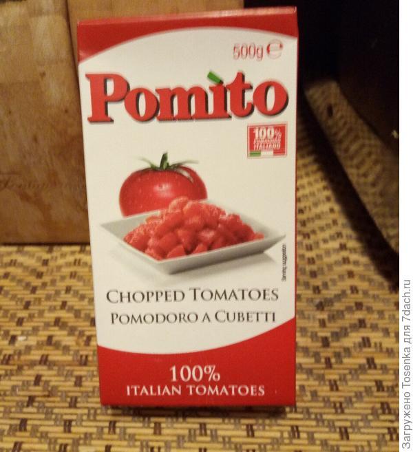 Использую вместо живых томатов консервированные и уже готовые