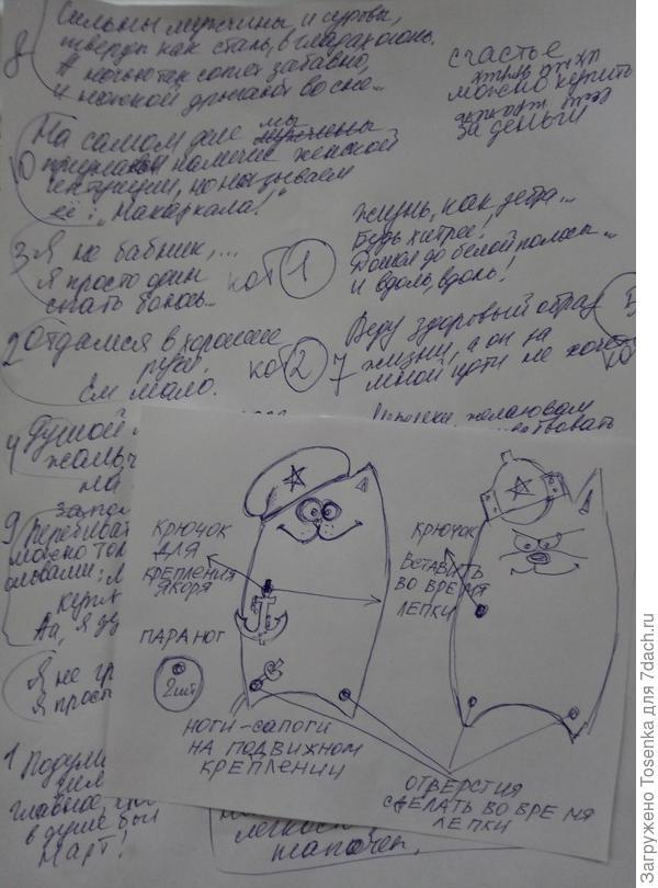 Тексты и рисунок
