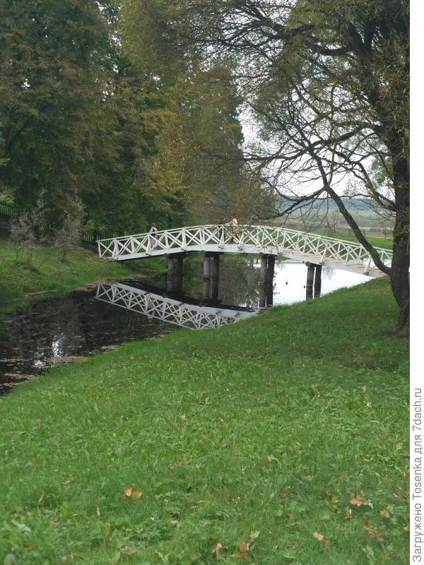 Озера и мостик
