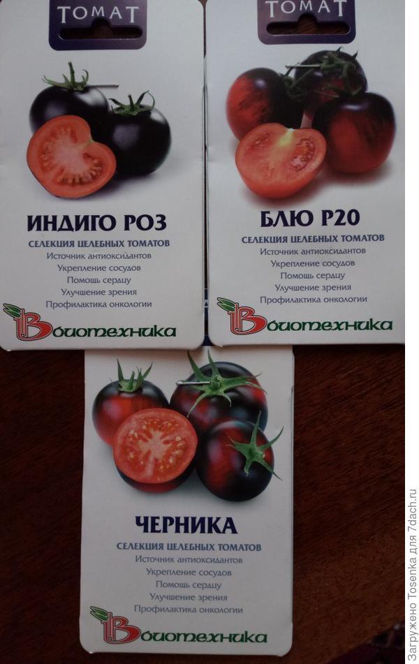Черные томатики