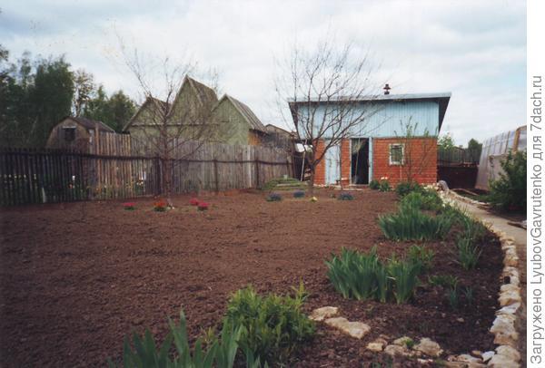2002 год - я ещё очень любила чистую, ухоженную землю...А здоровья-то сколько было, бог мой!