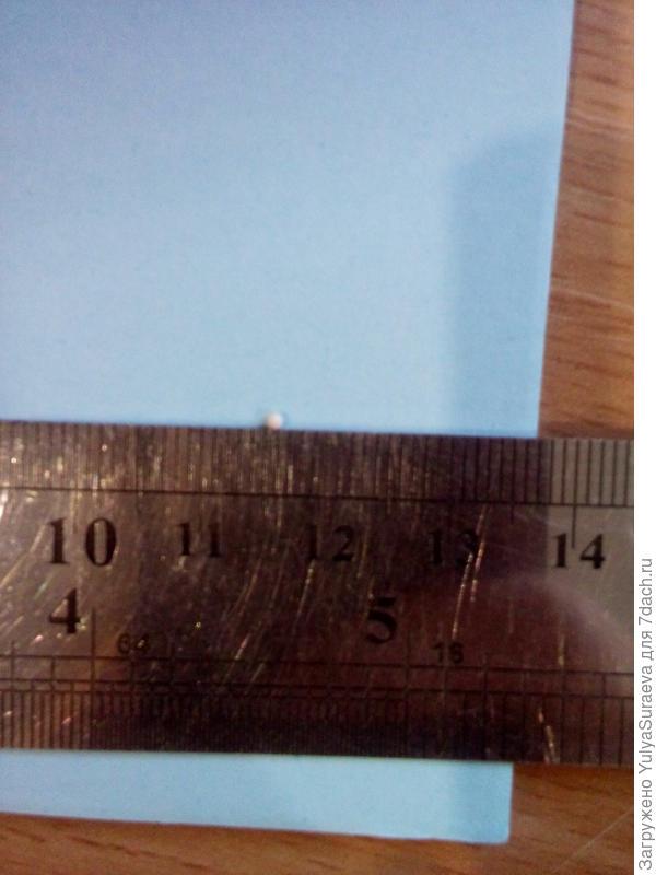 Примерный размер данной гранулы около 1 мм