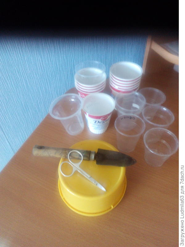 Инструменты для пикировки