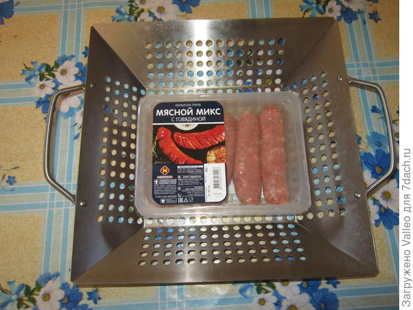 Колбаски для приготовления на гриле
