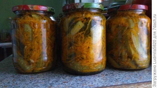 Огурцы по корейски( салат)