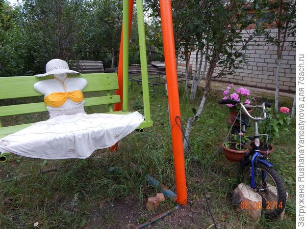 Велосипед моих внуков.
