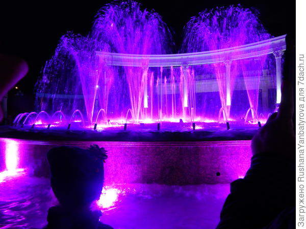 Цветомузыкальный фонтан.